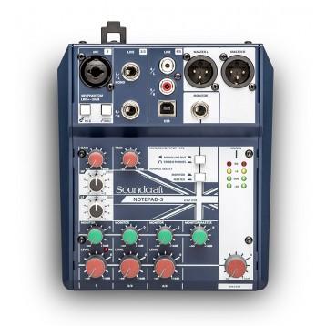 5通道小型模拟调音台