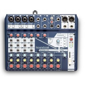 12路小型模拟调音台