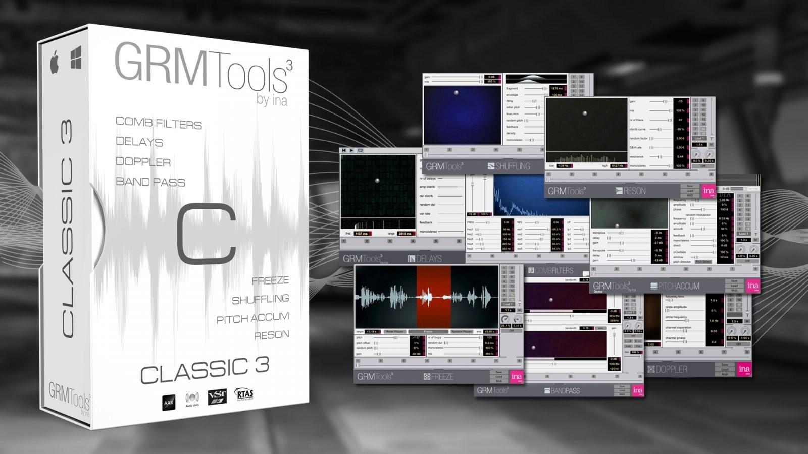 GRM Tools Classic 3 50% 优惠