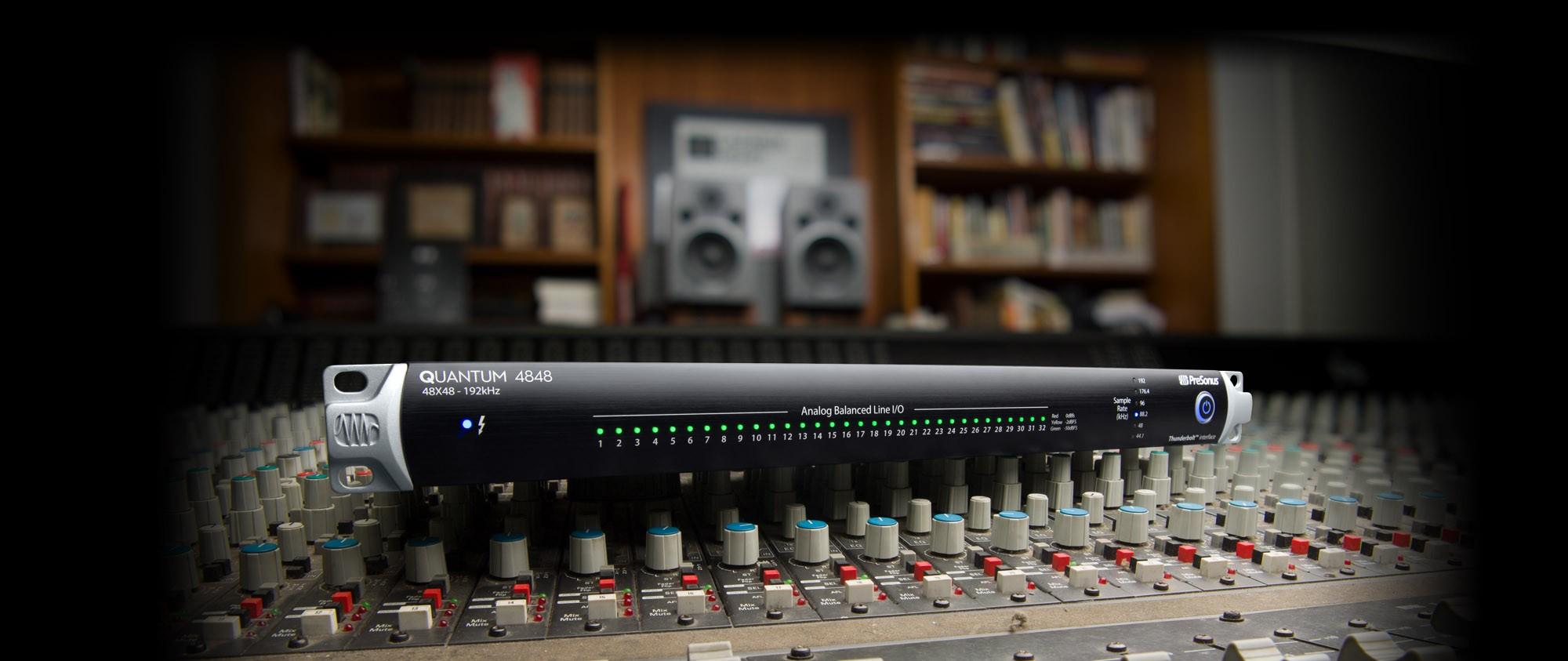 使用Quantum声卡将复古设备和你的DAW融合
