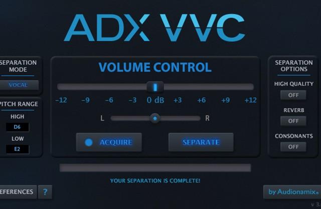 ADX VVC演示:人声音量控制