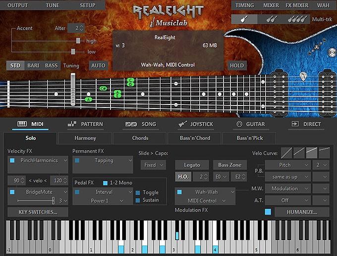 MusicLab:真实的吉他乐器