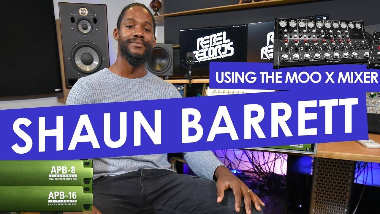 中文 McDSP APB Artist Sessions Presents- SHAUN BARRETT