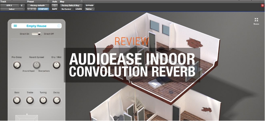 Audio Ease Indoor 混响插件评测