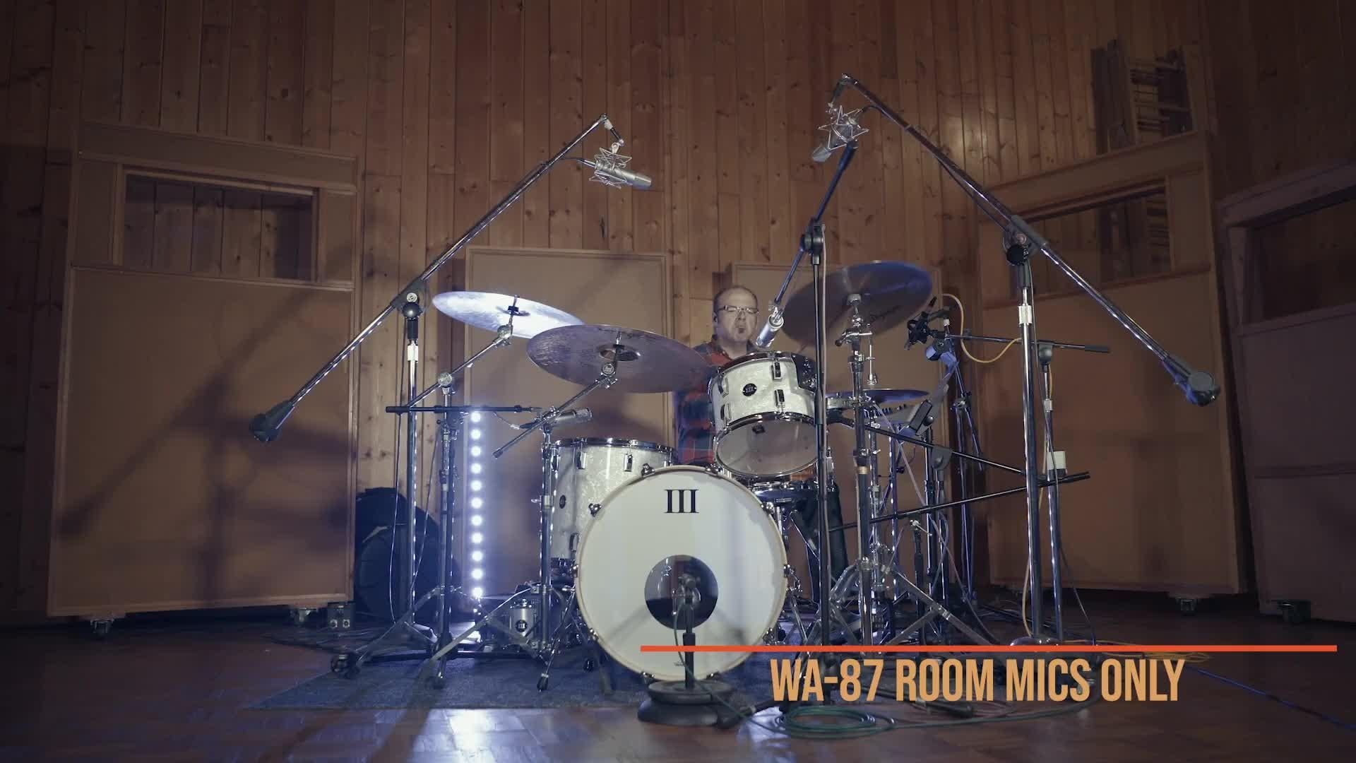 鼓房间话筒对比 - Room Mic