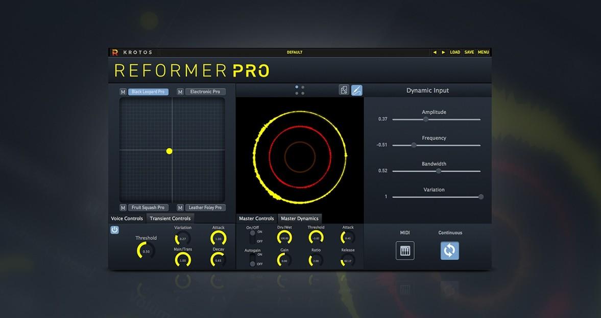 Krotos 声音设计软件 Reformer Pro 优惠促销 40% off !