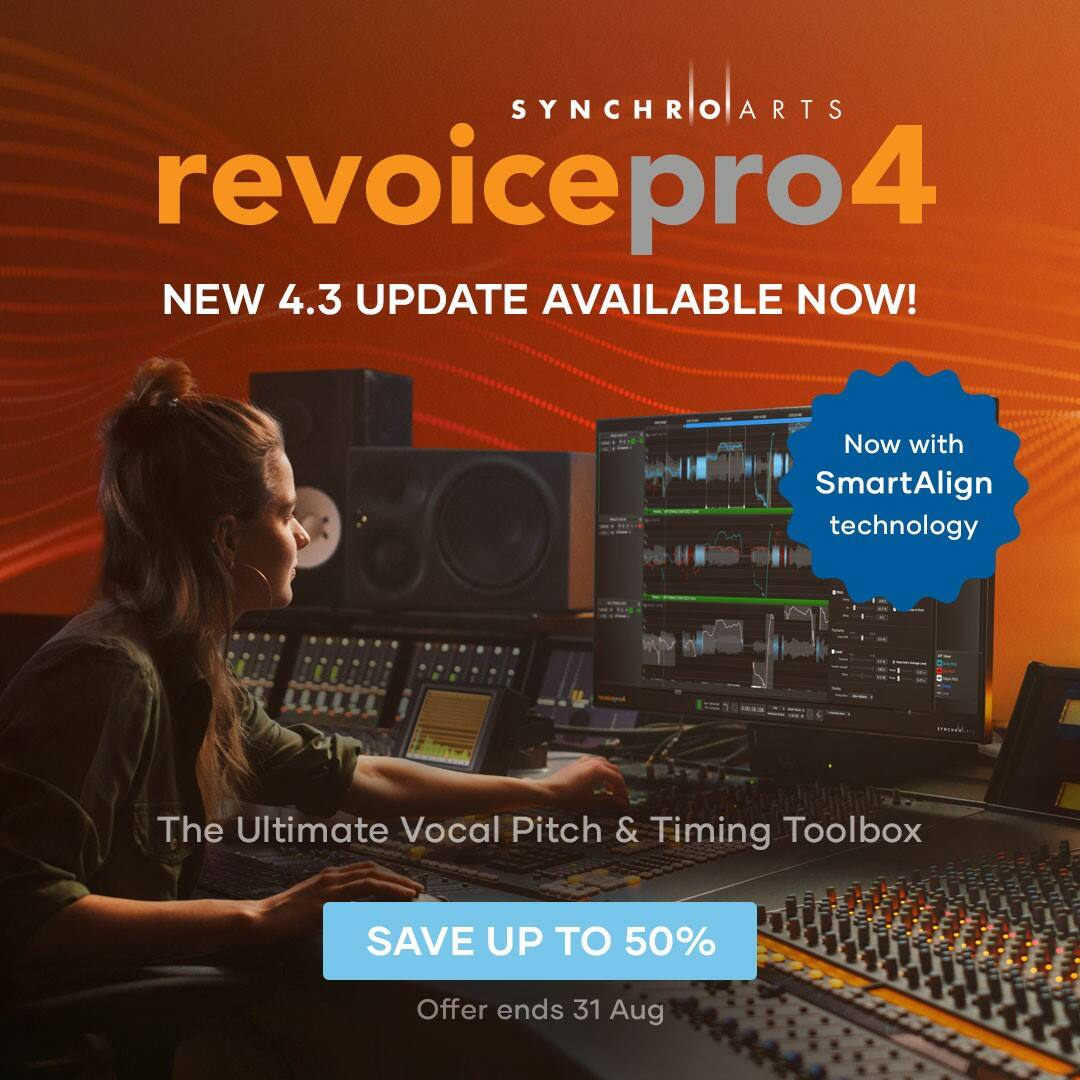 Revoice Pro 更新到 4.3 版本并开始夏日促销