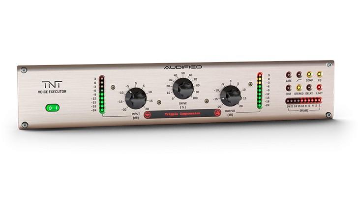 使用TNT Voice Executor 10S内完成人声处理