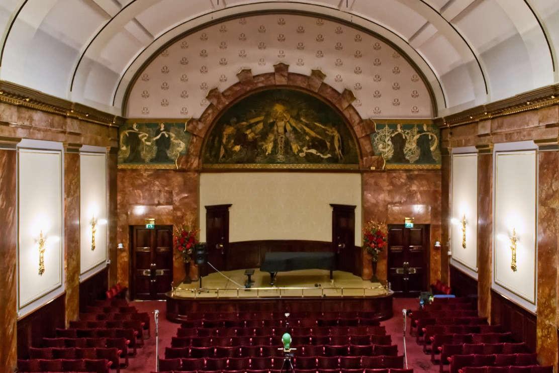 Altiverb更新采样:Wigmore Hall 伦敦威格莫尔大厅