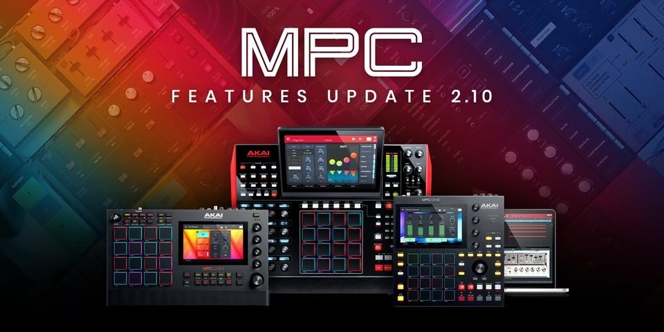AKAI 发布MPC 2.10,开始夏日促销