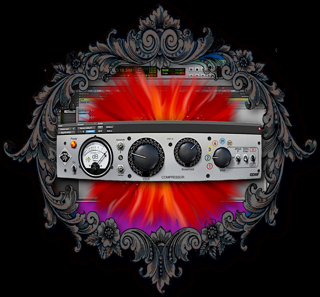 DDMF - Magic Death Eye 压缩器插件演示