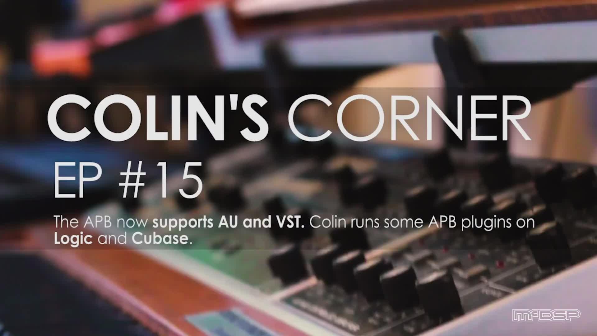 McDSP APB 处理器开始支持 VST 和 AU 插件格式