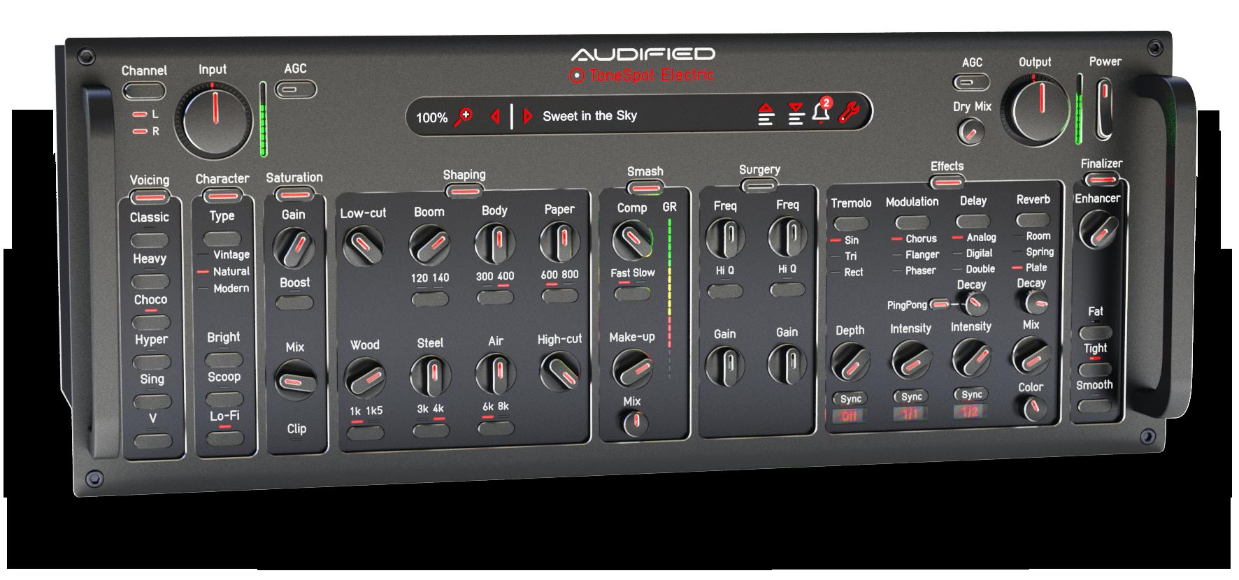 Audified发布ToneSpot Electric Pro:发现最佳电吉他音色