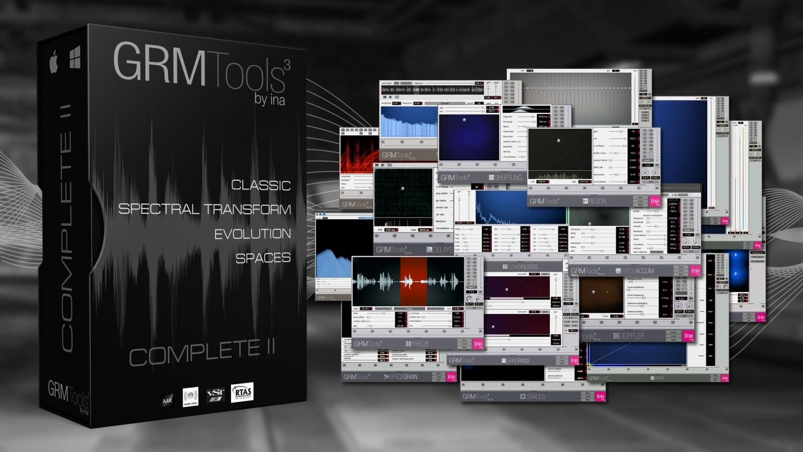 GRM Tools 声音设计工具介绍