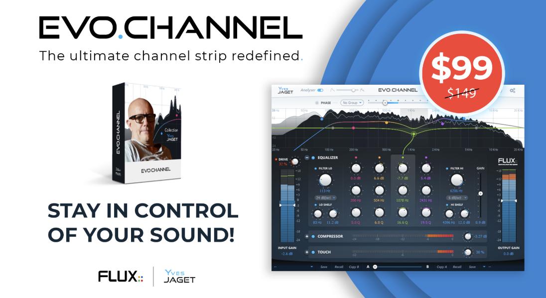 Flux - EVO Channel 通道条插件 九月促销