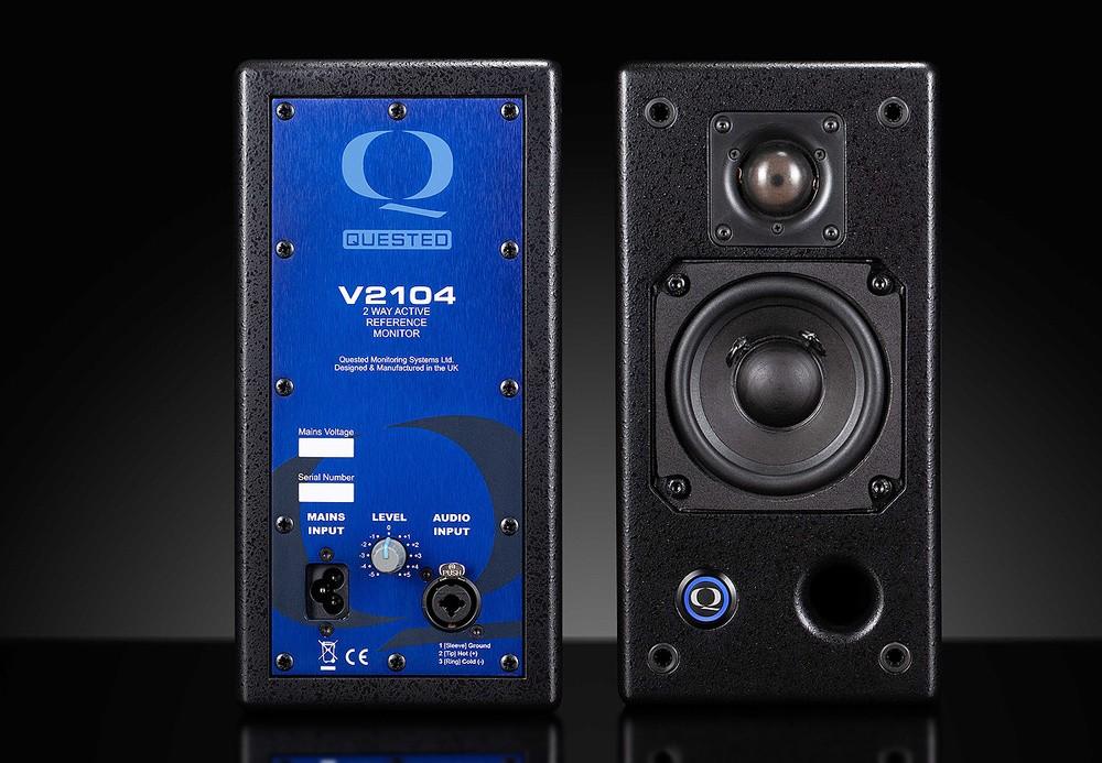 评测 - Quested V2104 两分频有源监听音箱