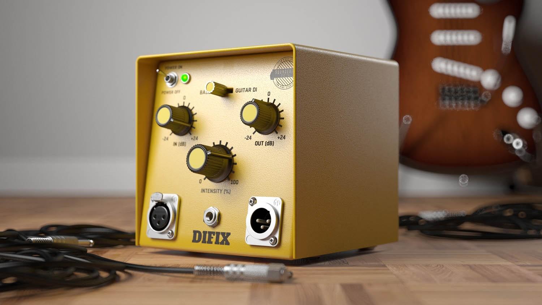 United Plugins DIFIX DI盒插件 修复您的吉他或贝斯音轨