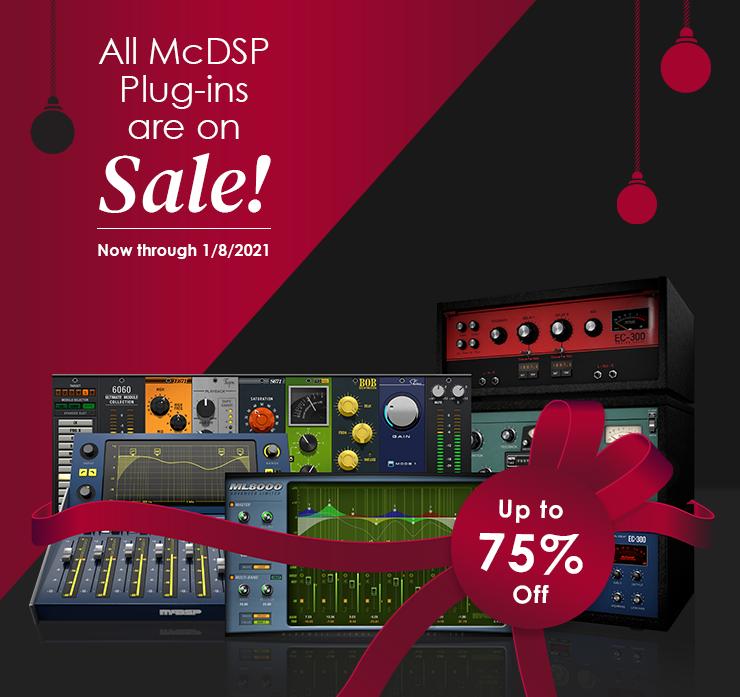 McDSP插件节日促销,最低2.5折