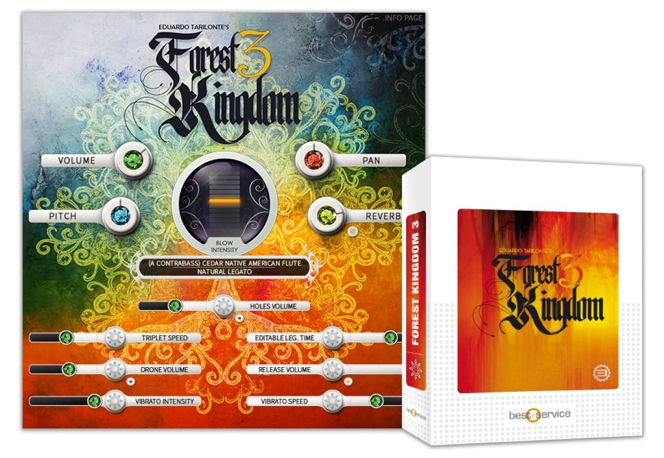 Best Service发布《Forest Kingdom 3》大自然之下的管弦之声