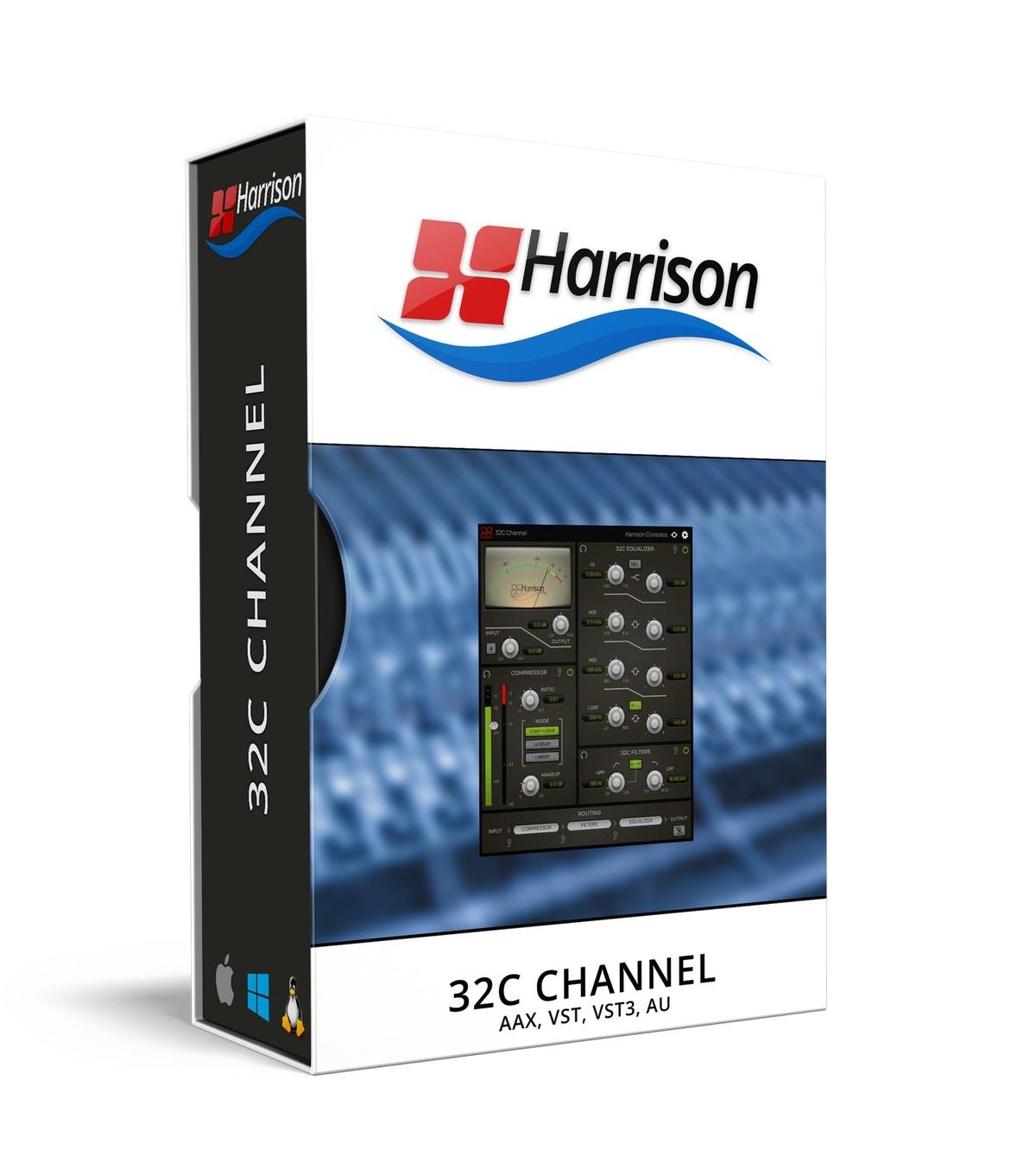 Harrison Consoles发布32C Channel通道条插件