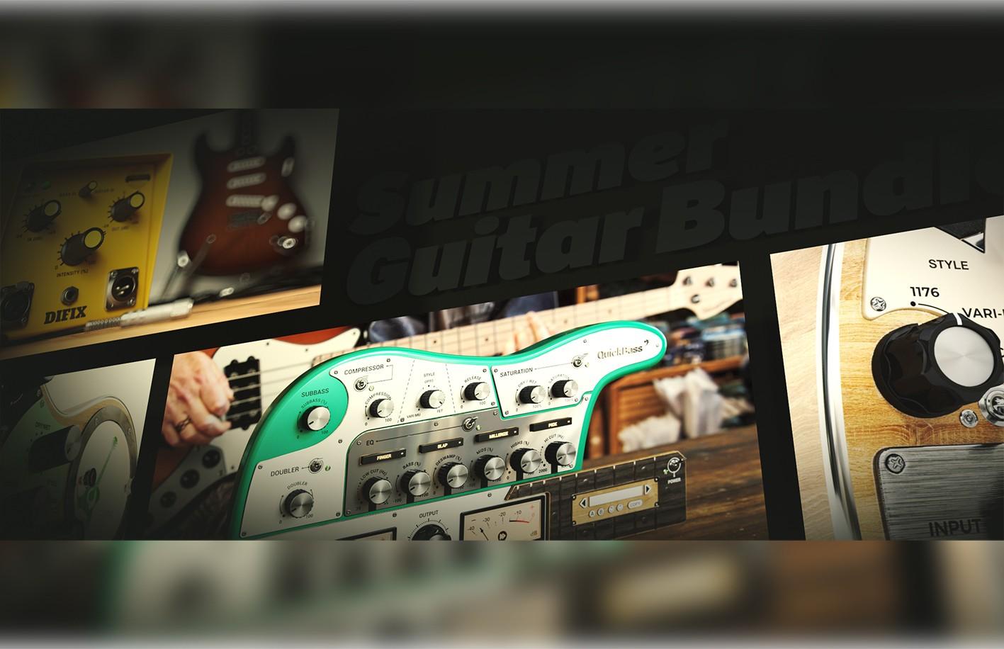 夏日优惠:United Plugins 推出 吉他效果器促销套装