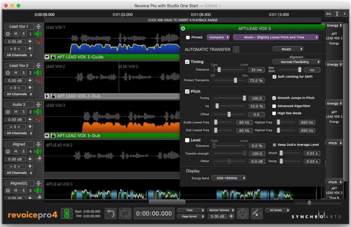 在Studio One中使用Revoice Pro 4创造和声