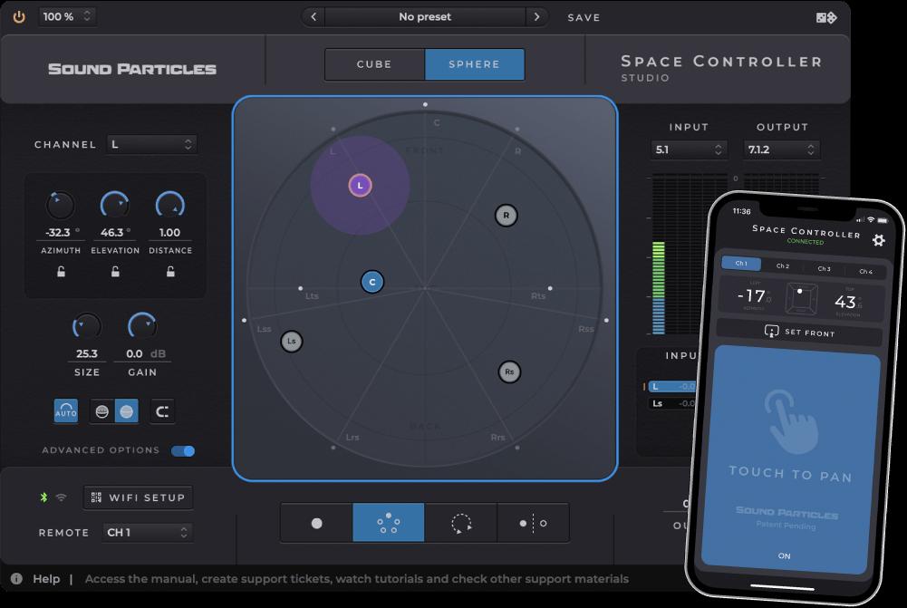 Space Controller 3D声相控制插件