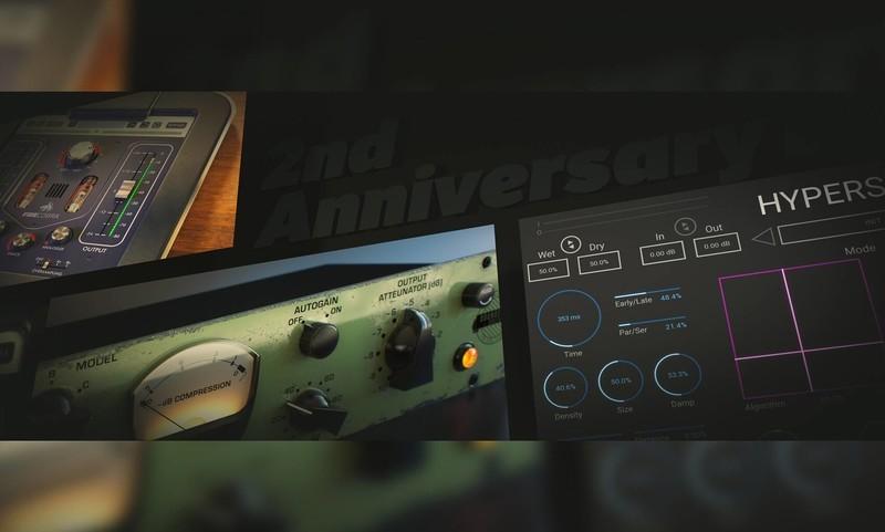 United Plugins发布2nd Anniversary Bundle 仅限五月!