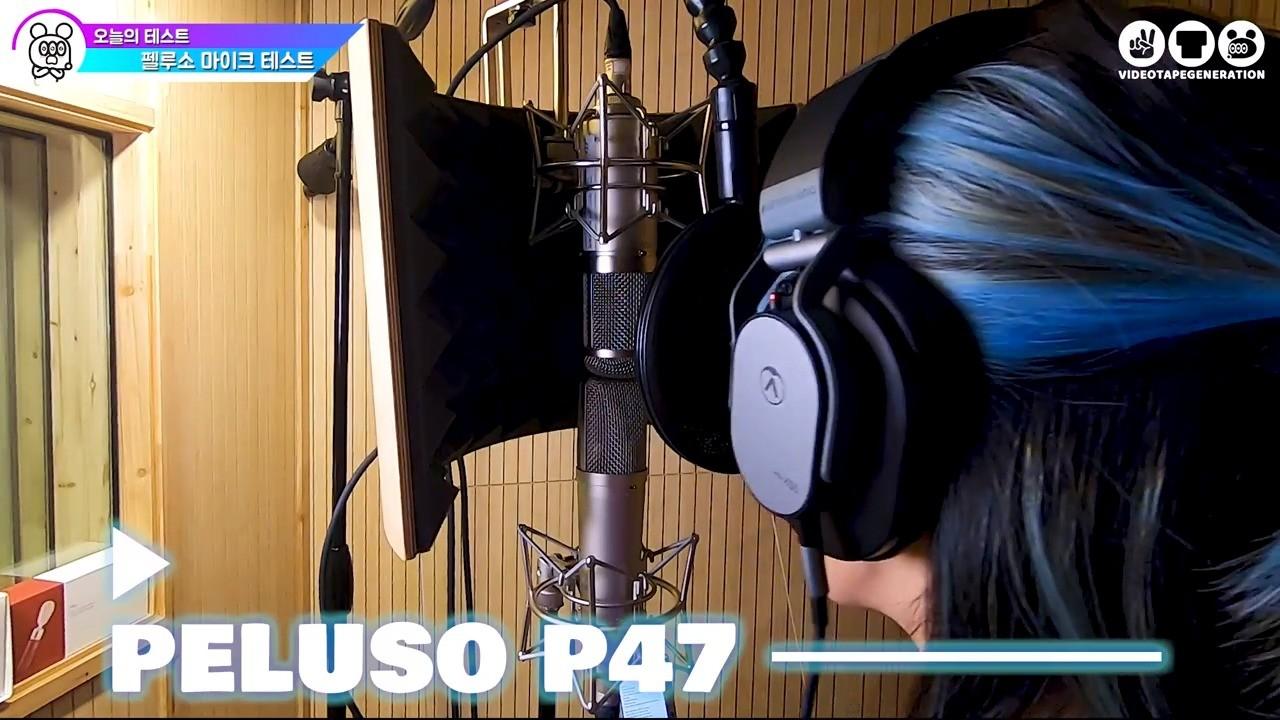 你听说过Peluso吗 ! ? Peluso P87 P47 电容话筒测试