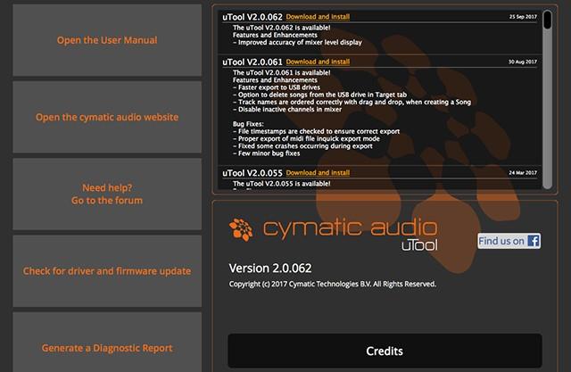 Cymatic Audio uTool 2演示:创建和导出歌曲